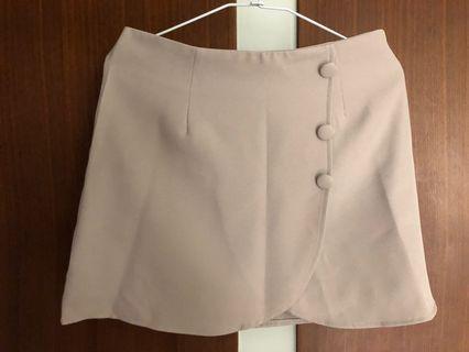 🚚 淺灰色西裝OL褲裙