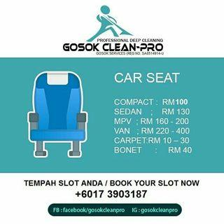 Deep Cleaning Carseat