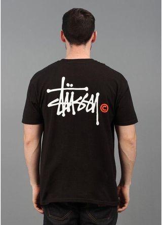 Stussy Black Tee T shirt