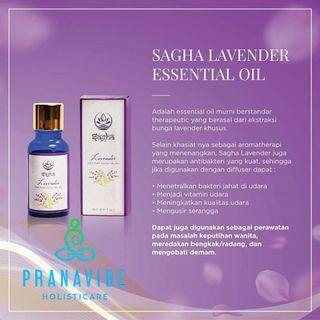 Sagha lavender essential oil /saleo mengatasi keputihan