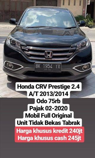 Honda CRV Prestige 2.4 A/T 2013/2014