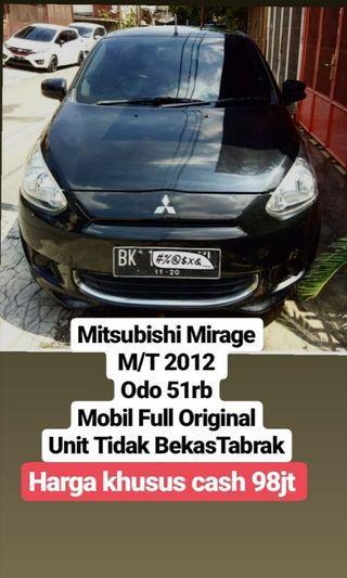 Mitsubishi Mirage 2012 M/T