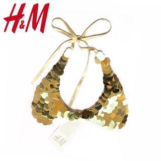 [FREE DELIVERY] H&M Peter Pan Sequin Collar Necklace