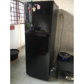 2-DOOR MITSUBISHI FRIDGE (240_ltr)