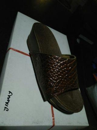 Sandle leather