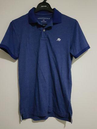 #BAPAU polo shirt Aeropostale size Xs fit S