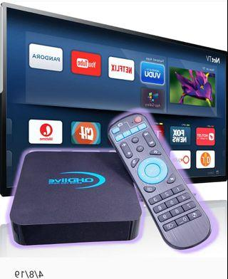 4K HD Smart TV box Brand new full package