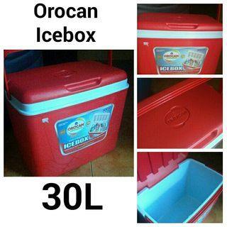 PRELOVED OROCAN ICEBOX 30L RED