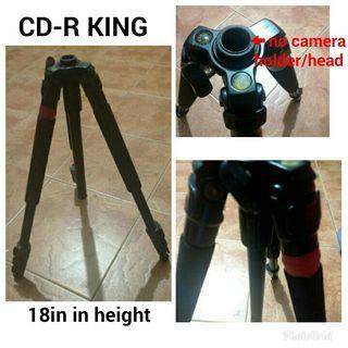 PRELOVED CD-R KING CAMERA HOLDER 18in (No head/camera holder, rustic)