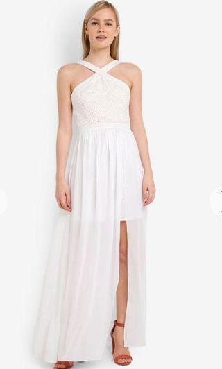 White Long Dress / Dress Putih