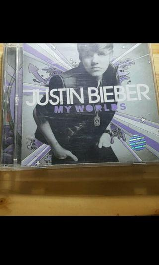 DVD JUSTIN BIEBER New World ori