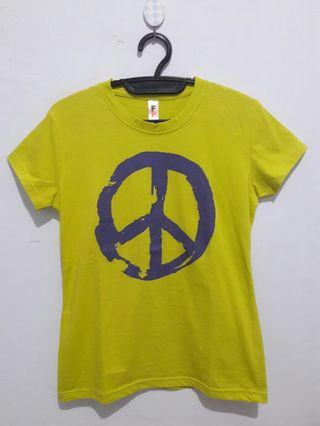 Graphic printed tee shirt (kaos bergambar)