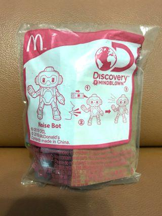 BN-sealed McDonald's Noise Bot. Brand new in packaging.