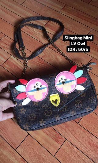 Slingbag owl