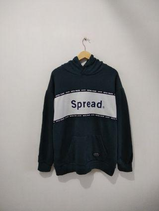 Hoodie Spread Litmus Green Bottle