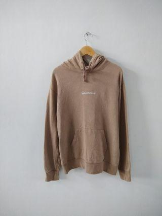 Hoodie California WHO AU Beige Basic
