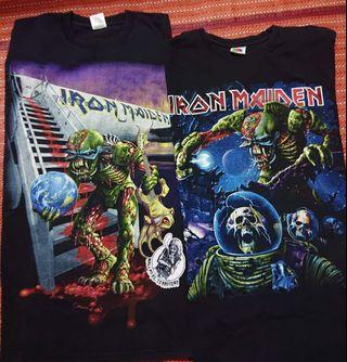 Original Iron Maiden tour shirt
