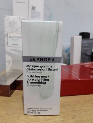 Sephora Pollishing mask clarifying & smoothing