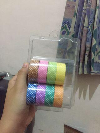 Washi tape miniso