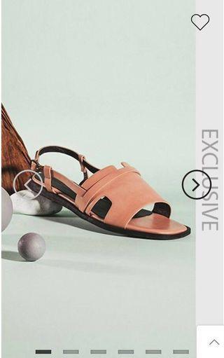 Thirteen Sandals in Blush