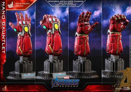 SOLD OUT Hot Toys 1/4 Nano Gauntlet Movie Promo Edition ACS008