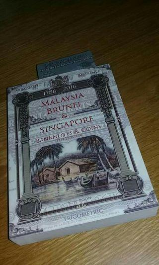 Malaysia Brunei & Singapore Banknotes & Coins Catalogue 8th Edition 1786~2016