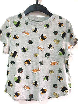 BNWT H&M Sushi top
