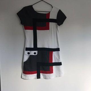 Cute Short Dress With Pockets