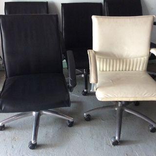 Swivel chair彷皮轉椅$40 及$120