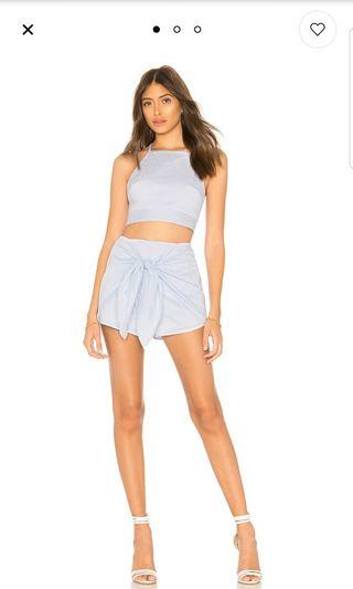 Danica stripe short set from REVOLVE by superdown