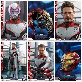 Hot Toys Tony Stark Team Suit pre order Avengers Endgame