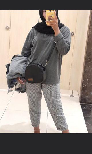 #BAPAU [NET] MONOGRID PANTS
