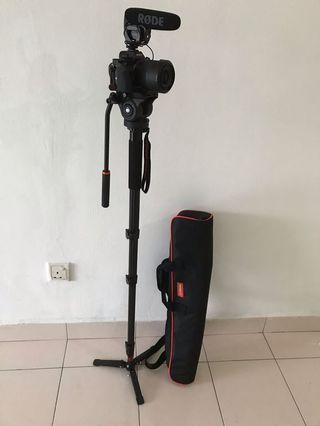 Coman video monopod