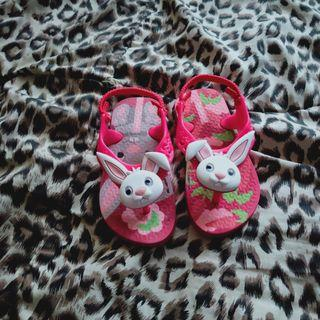 Baby Pink Rabbit Shoes