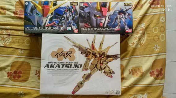 Gundam RG & MG