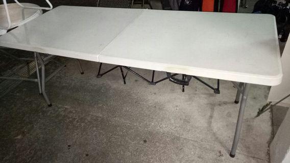 6FT Foldable Table 182cmx74cmx74cm