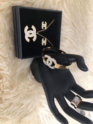 CHANEL SETS JEWELRY