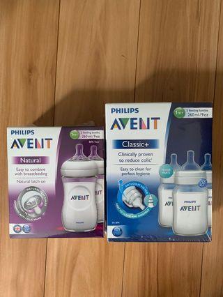 Avent Bottles NEW