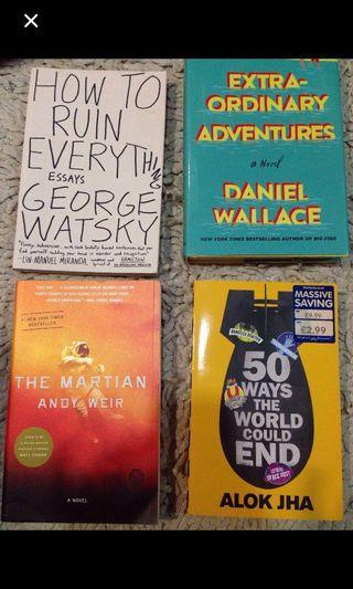 English novels [ reduced. ]