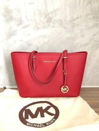 100% Authentic Michael Kors Tote Bag #GayaRaya