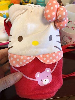Water bottle thermal bag hello kitty
