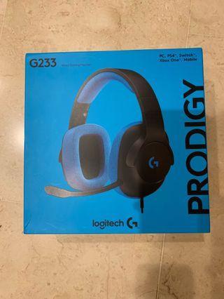 Logitech G502+G233 bundle set *brand new, retail 248$*