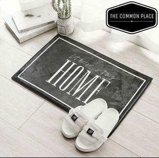 INSTOCK Nordic Style Monochrome Home Door Floor Mat Carpet