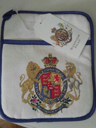 英國白金漢宮禮品隔熱墊(约20x23CM)