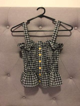 Checkered crop
