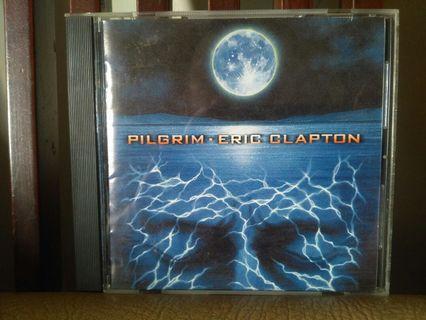 #mauthr CD Eric Clapton album Pilgrim, original import. Made In Japan