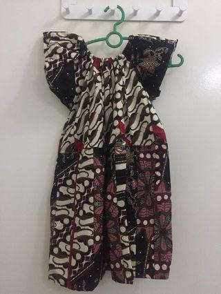 SALE! Girls Batik Dress