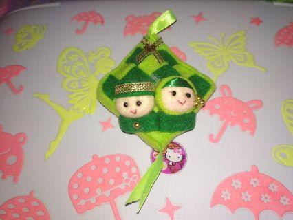 Boneka ketupat lebaran