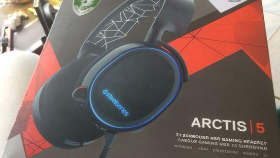 Jual Headset Steelseries Arctis 5