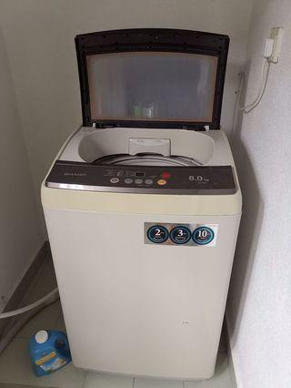 SHARP Washing Machine 8kg